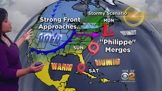 Strong Storm Eyes Tri-State