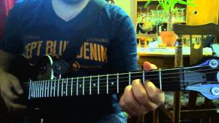 Alter Bridge - Open your eyes (tutorial en español; afinación alternativa)