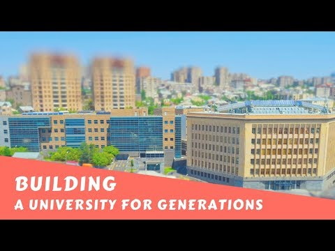Building a University for Generations
