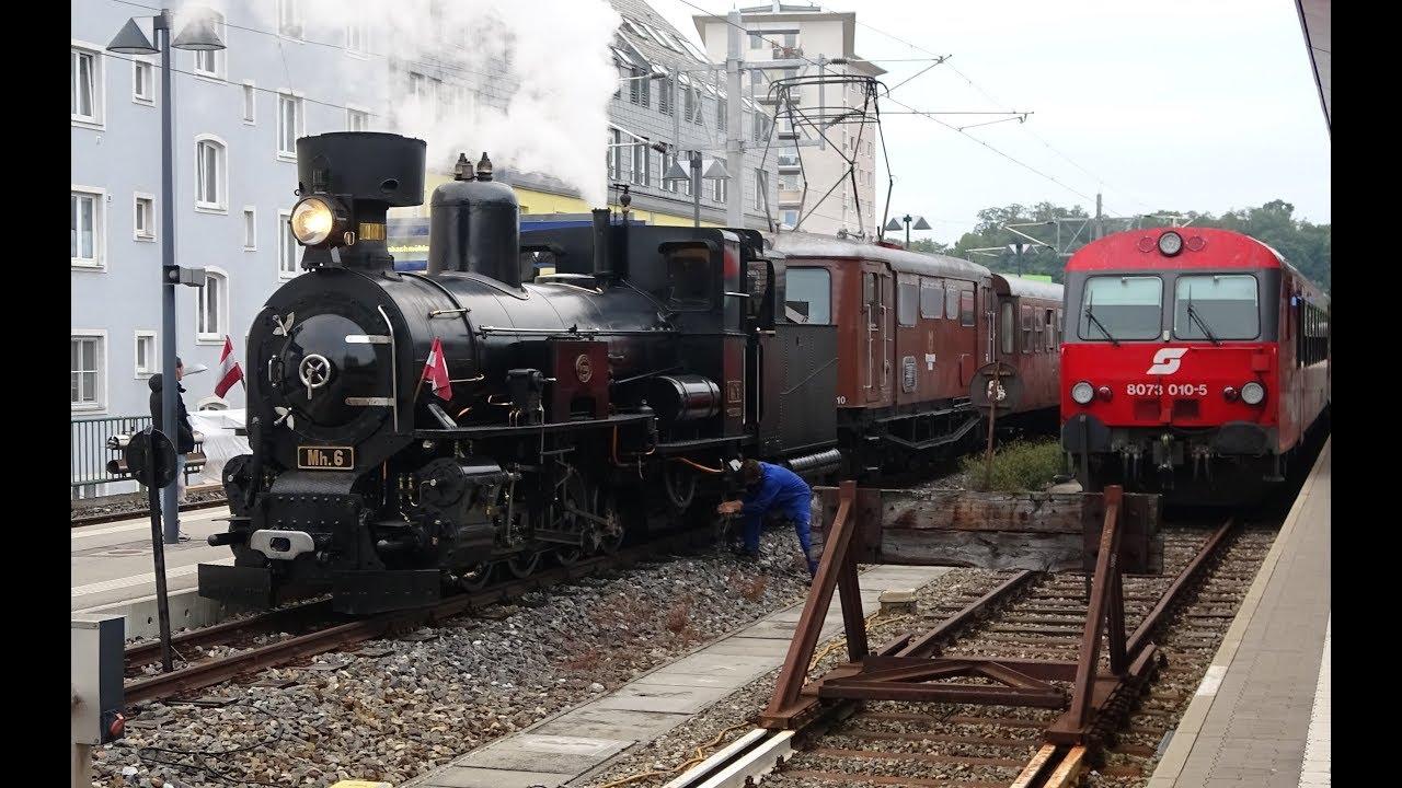 Tren especail en St. Pölten