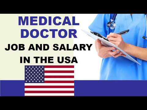 Medical Doctor Salary In The United States - Jobs And Wages In The United States