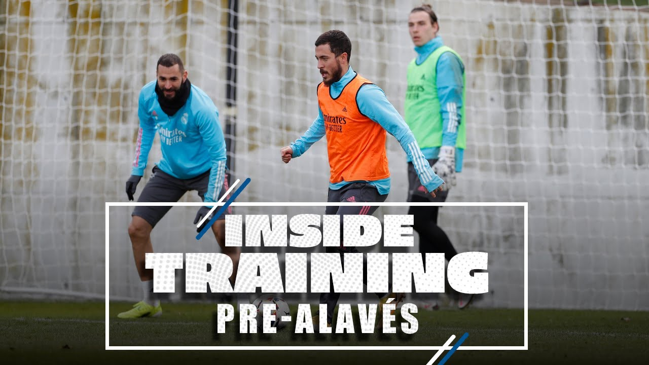 Real Madrid gear up for Alavés and LaLiga!