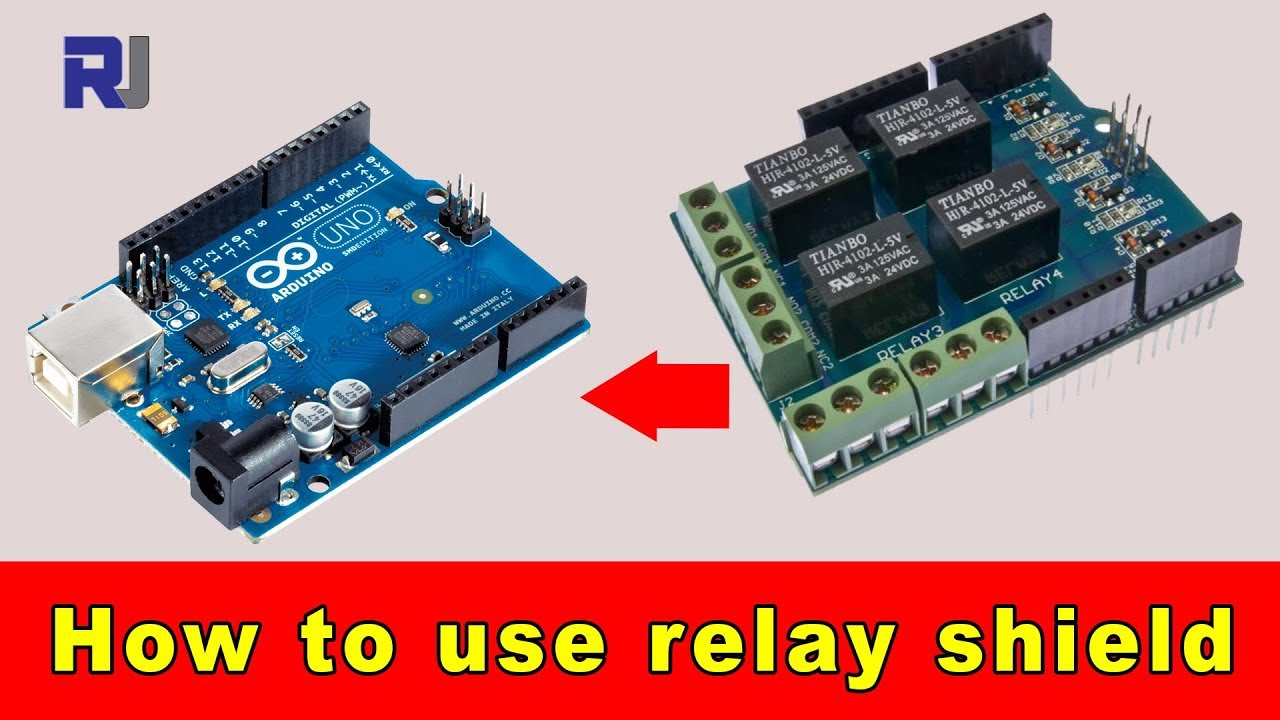 how to use 4 channel arduino relay shield with code. Black Bedroom Furniture Sets. Home Design Ideas