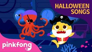 Baby Shark Trick or Treat | Baby Shark Halloween | Halloween Songs | Pinkfong Songs for Children