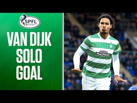 Goal of the Season Contender? Virgil Van Dijk Scores Sensational Solo Goal! | SPFL