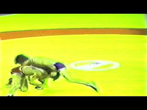 1989 Senior World Championships: 52 kg Zeke Jones (USA) vs. Constantin Corduneanu (ROU)