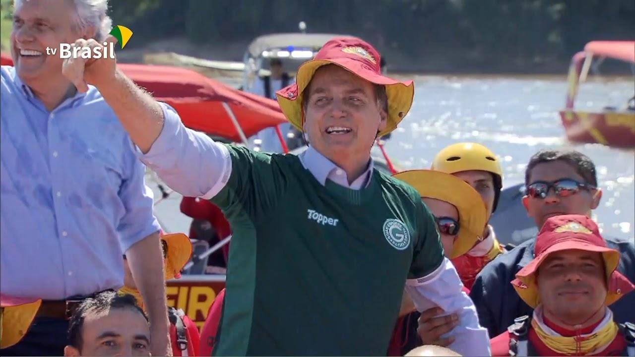 Bolsonaro participa do lançamento do projeto Juntos pelo Araguaia