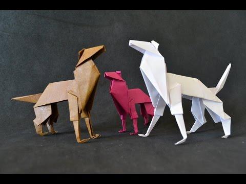 Origami: Shepherd Dog