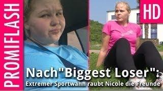 Nach Biggest Loser: Extremer Sportwahn raubt Nicole die Freunde