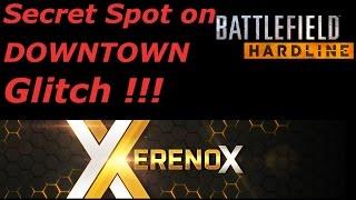 Battlefield Hardline Glitch -The Bank Job Secret Spot after Patch! | BFH Glitch [HD+]