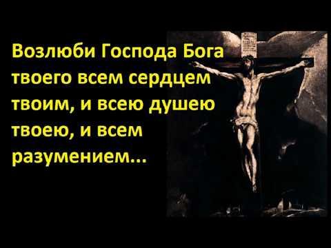 Основы Православия. Возлюби Господа Бога твоего