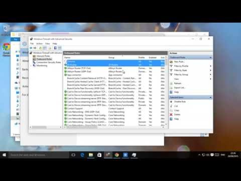 Windows 10 and 8.1 Firewall - Block All or Some Programs And Services