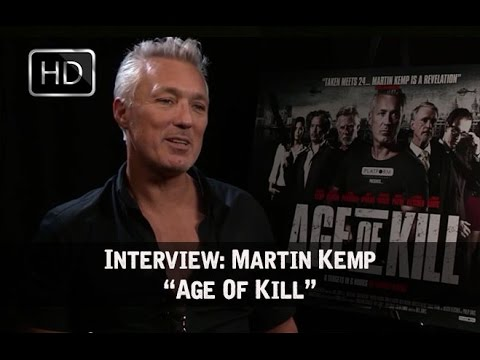 """Age Of Kill"" Exclusive Interview - Martin Kemp (HD)"