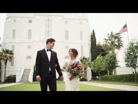 Mike + Jessica, St. George Temple Wedding, Southern Utah University reception