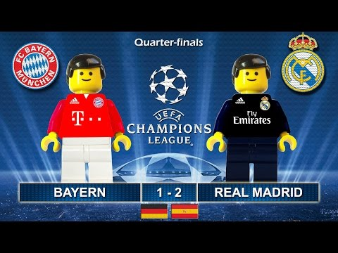 BAYERN vs REAL MADRID 1-2 • Champions League 2017 • 12/04/2017 ( Film Lego Football Highlights )