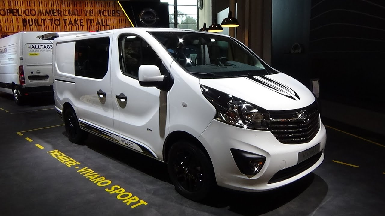2017 opel vivaro sport exterior and interior iaa hannover 2016 youtube