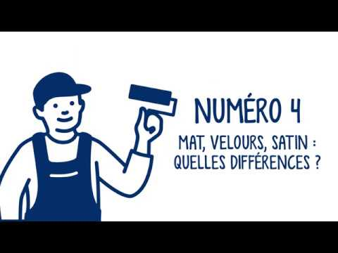 Mat Velours Satin Quelles Differences Les Astuces Ripolin Youtube