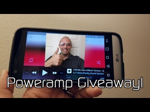 Poweramp Music Player App Review & Giveaway