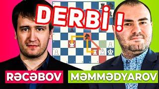 ÖLKƏ DERBİSİ Şəhriyar Mamedyarov - Teymur Rəcəbov Meltwater Finalı 2021