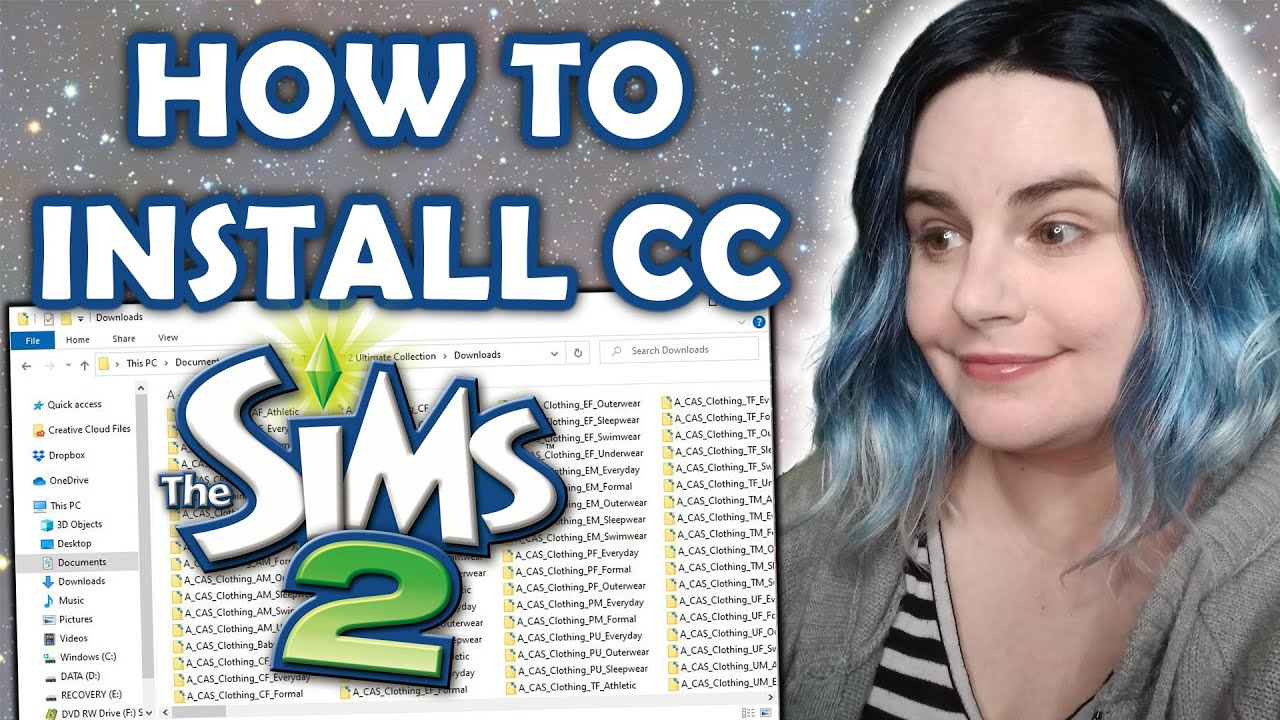 How to Install Custom Content & Mods for The Sims 2