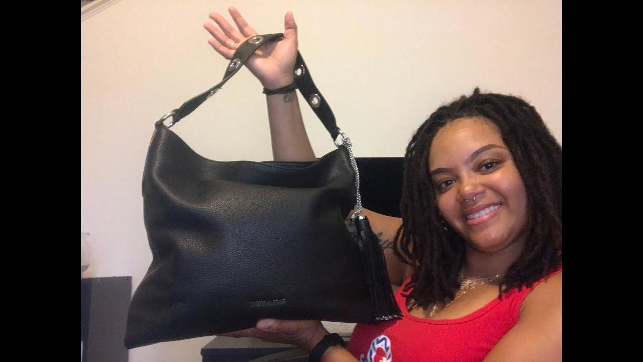d282505e11b6 REVIEW  Michael Kors Brooklyn Large Shoulder Bag - YouTube