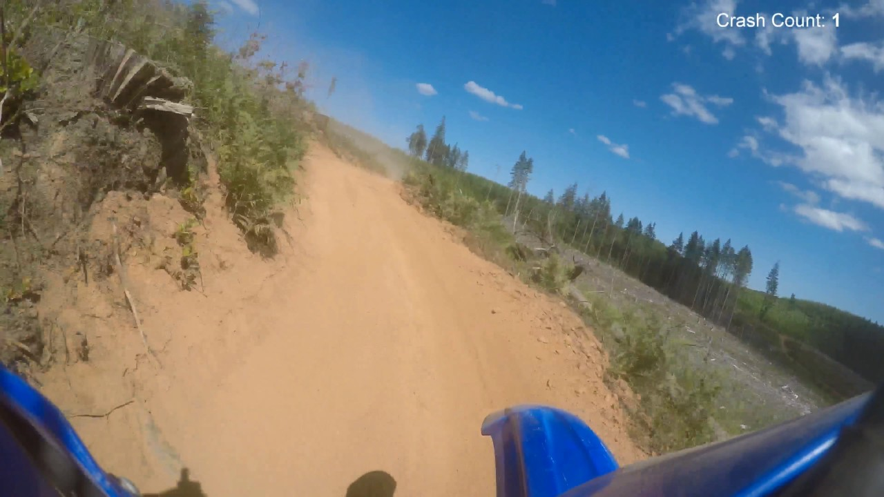 Dirt Bike riding in Tillamook State Forest (TSF)