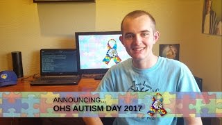Robbie Messer Announces OHS Autism Day 2017