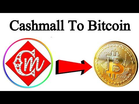 Cashmaal To Bitcoin Money Transfer