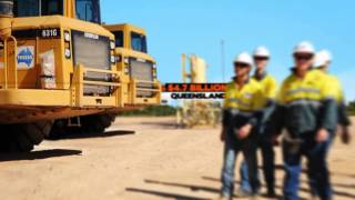 Infographic: Queensland Gas Company
