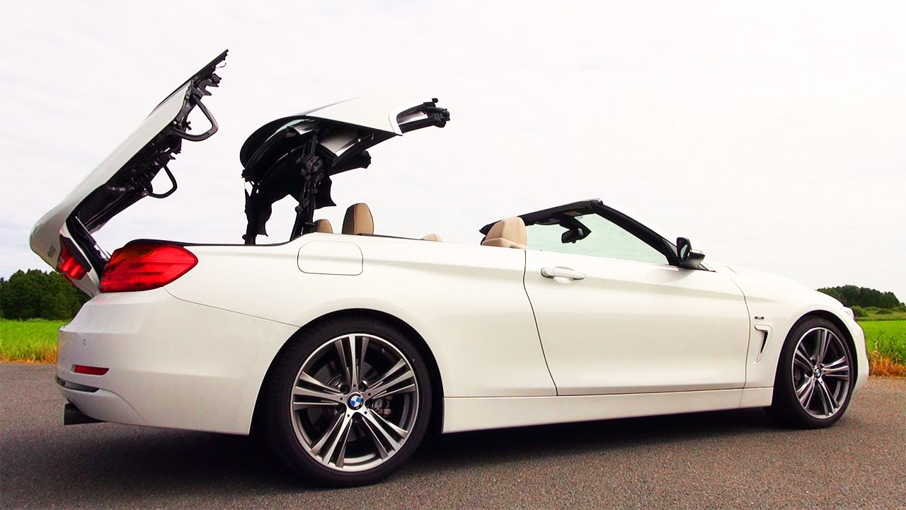 Bmw 435i Presentation Roof Open Cabrio Verdeck Review