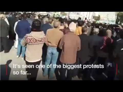 Iran Protesters Voice Opposition In Iranian Cities