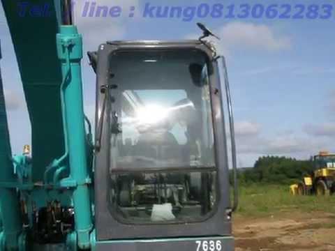 รถขุด โกเบโก้ SK200-8 # YN12-58413 สต๊อกรอนำเข้าจากญีปุ่น T.กุ้ง:0813062283