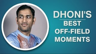 Dhoni's best off-field moments