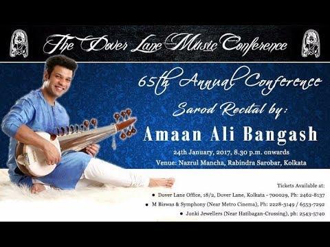 Ustad Amaan Ali Bangash Doverlane Classical Music festival 2017
