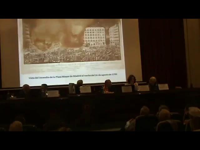 """Ponencias sobre """"La Plaza Mayor en los tiempos de Carlos III"""""""