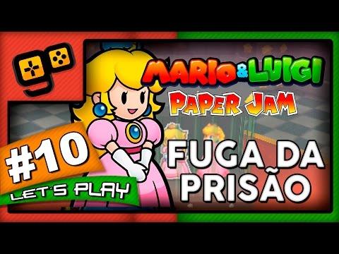 Mario & Luigi Paper Jam - Parte 10 - Fuga da Prisão