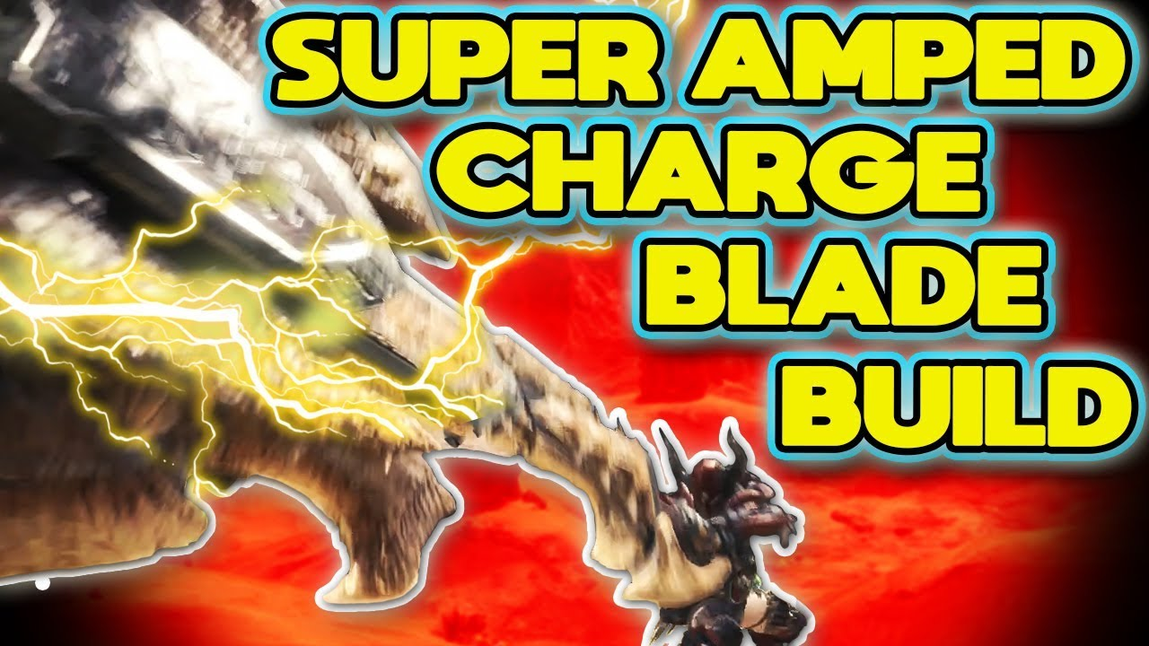 INSANE Elementless Discharge Build for Charge Blade Monster Hunter World:  MHW