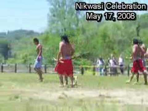 Stickball Exhibition at Nikwasi Celebration