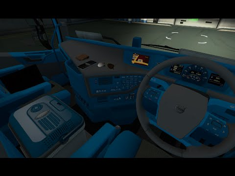 Volvo FH Blue & Grey Interior! [ETS2]