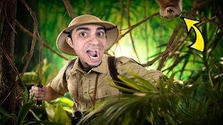 النجاة في الغابة : بداية صعبة انا و صديقي Eco !! 😱🔥
