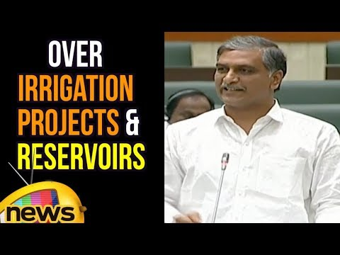 Harish Rao Reply to kishan Reddy Over Irrigation Projects And Reservoirs | Mango News