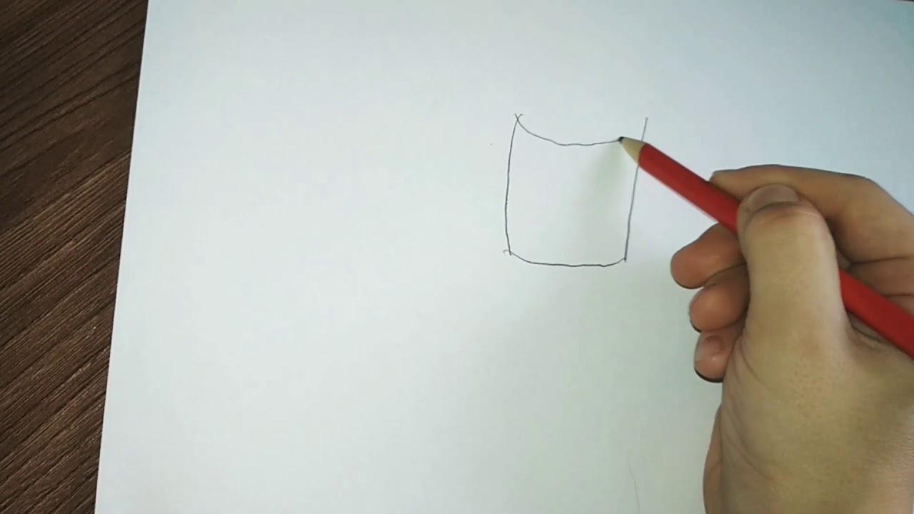 Как легко нарисовать стакан с водой очень просто!!! - YouTube