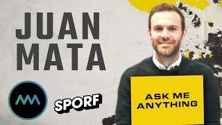 JUAN MATA | ASK ME ANYTHING | SPORF x Common Goal