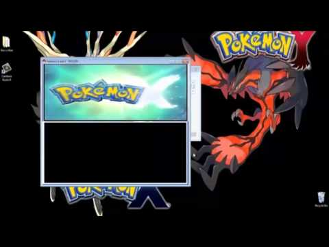Pokemon X & Y 3DS Rom With Emulator Download