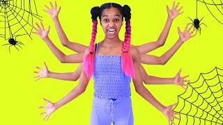 Shasha TURNS INTO A SPIDER! - Shiloh and Shasha - Onyx Family