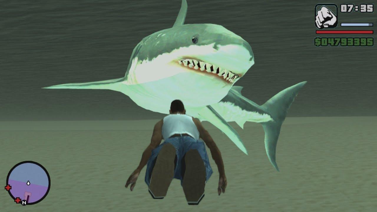 gta sa shark skin mod