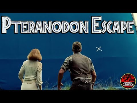 Jurassic World Without SFX | PTERANODON ESCAPE ATTACK! | Behind the Scenes