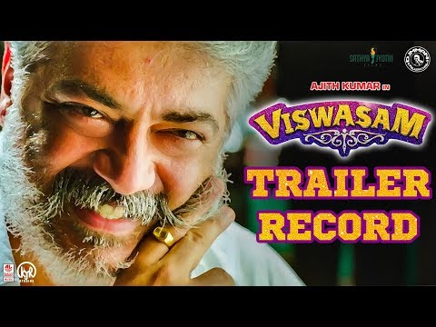 Viswasam Kola Mass Record Breaking Trailer | Ajith Kumar, Nayanthara