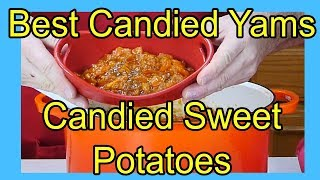 How To Make Candied Sweet Potatoes Or Candied Yams In A Cast Iron Dutch Oven On An Induction Cooktop