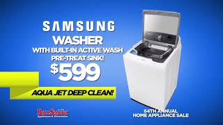 Bill Smith Appliances & Electronics Samsung Home Appliance Sale Q4 2018